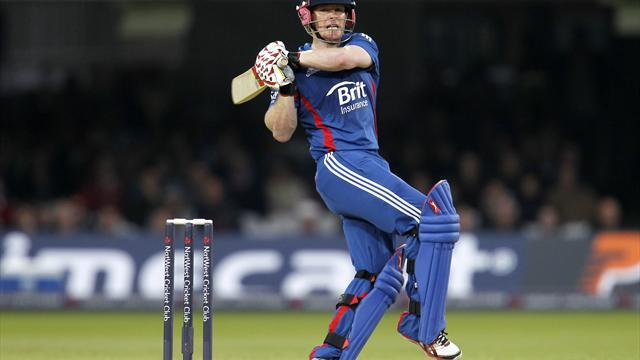 Cricket - Morgan six earns England thrilling win