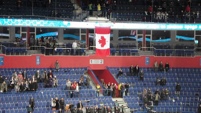 A few fans in Ufa at WJHC (Sunaya Sapurji)