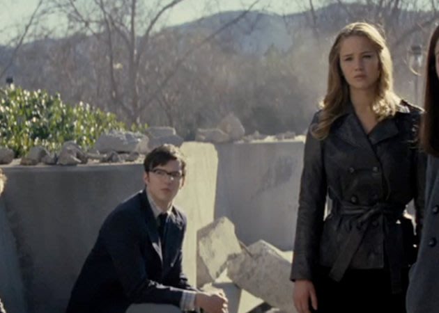 Nicholas Hoult And Jennifer Lawrence X Men First Class ...