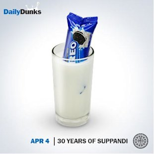 How Oreo Indias Daily Dunks Are Being Lapped Up On Social Media image Oreo suppandi