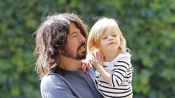 Dave Grohl Park With Family