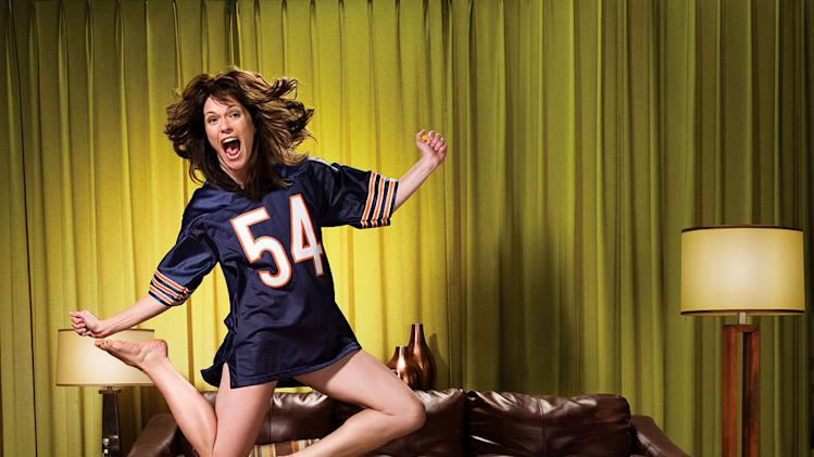 "Katie Aselton in ""The League."""