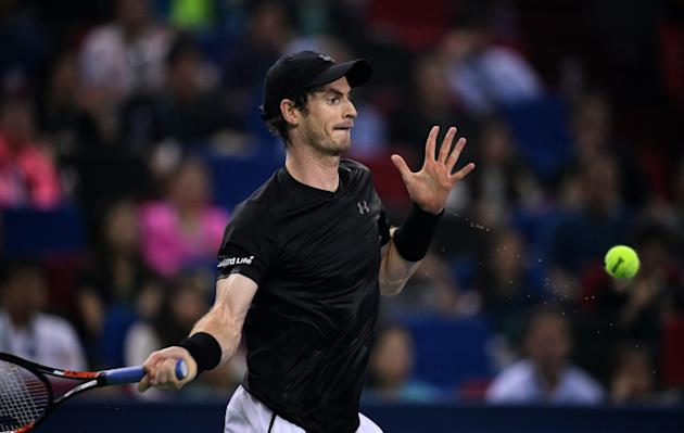 Andy Murray of Britain is closing in on Novak Djokovic's top ranking, after taking his season record to 66 wins and just nine losses