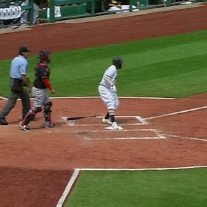 Cutch's go-ahead two-run double