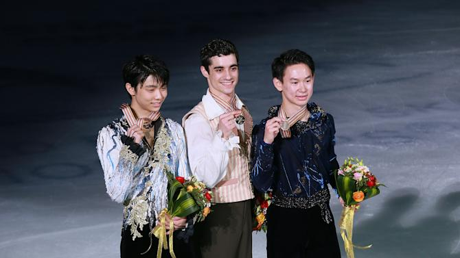 2015 Shanghai World Figure Skating Championships - Day 4