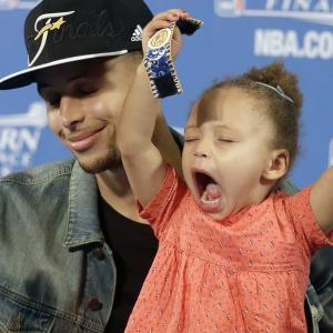 MVP's daugher is outrageously adorable