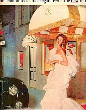 Original ad for Revlon Fifth Avenue Red
