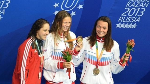 Summer Universiade - Efimova wins fourth Universiade gold in Kazan