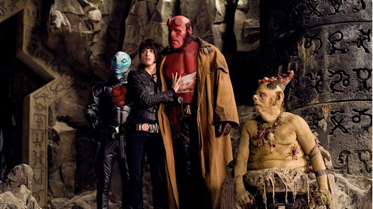 Doug Jones Selma Blair Ron Perlman John Alexander Hellboy II: The Golden Army Production Universal 2008