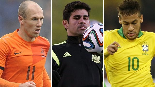 World Cup - Wednesday's friendly team news