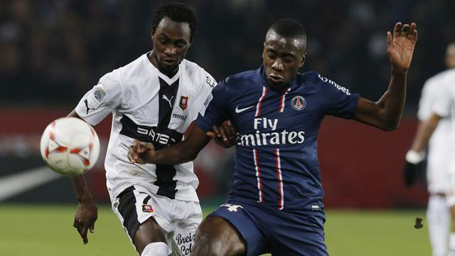 Ligue 1 - Nine-man Rennes sink leaders PSG