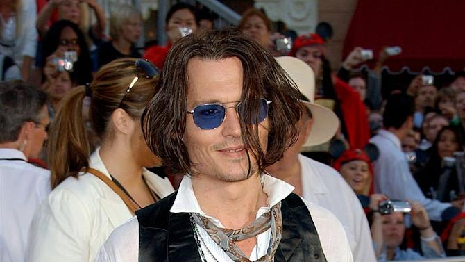 Depp Johnny Pirates