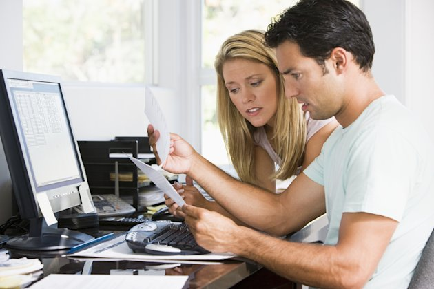 Couple worried about money. Image: Fotolia