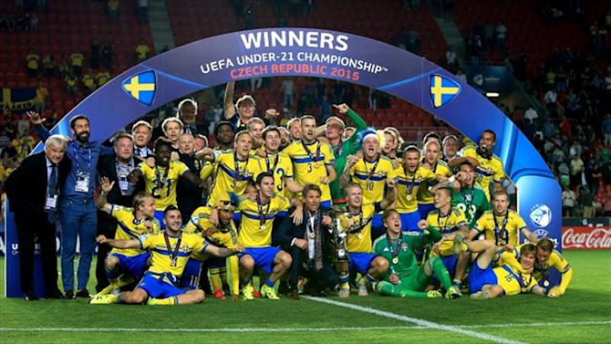 Football - Glory for Sweden in Under-21 final