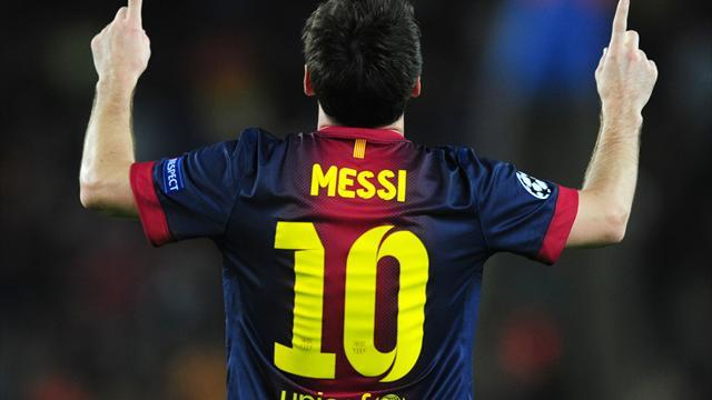 Liga - Vilanova: Messi still plays like teenager