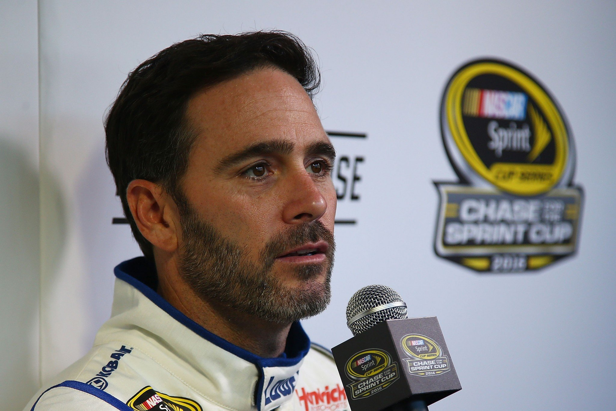 Jimmie Johnson's two wins came in the first five races of 2016 (Getty).