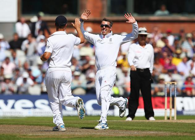 England v Australia: 3rd Investec Ashes Test - Day Two