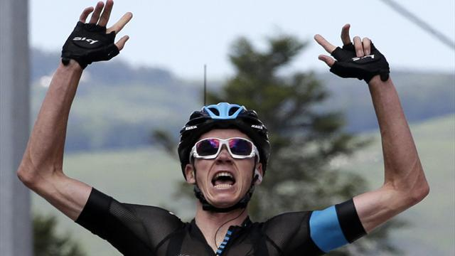 Tour de France - Froome '100 per cent' denies doping