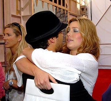 Wilmer Valderrama and Jessica Biel MTV Movie Awards - 6/5/2004