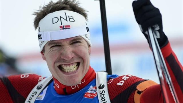World Championships - Svendsen returns as Norway win men's relay