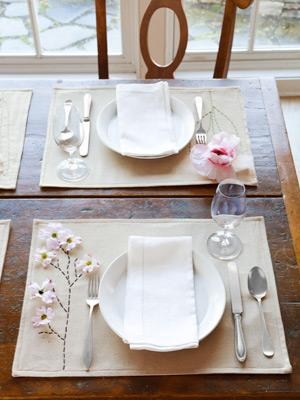 Set the Table With Polished Placemats
