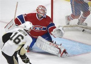 Sutter's 2nd goal gives Penguins' 7-6 OT win