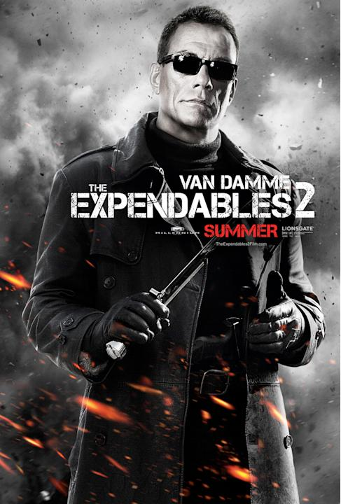 Expendables 2, Poster