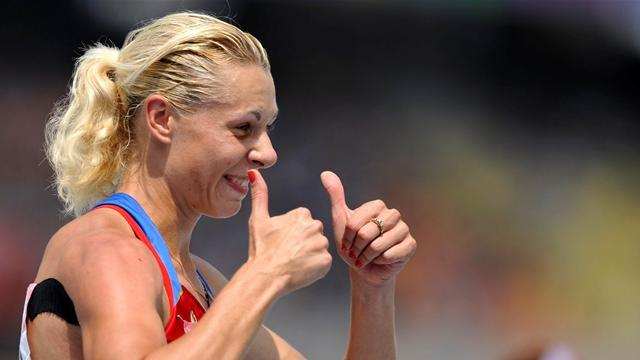 Athletics - Russian heptathlete Chernova ruled out of worlds