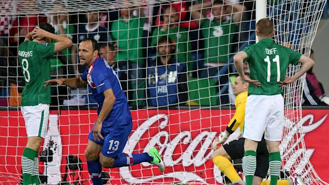 The Republic of Ireland tasted defeat in their opening Euro 2012 match