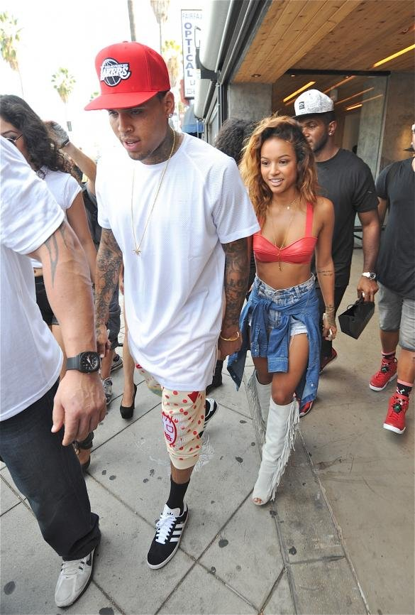 Is Chris Brown Secretly Father To Nine-Month Old Baby Girl With Model Friend Nia?