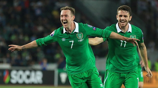 Republic of Ireland winger Aiden McGeady, left, has the capacity to thrill and frustrate