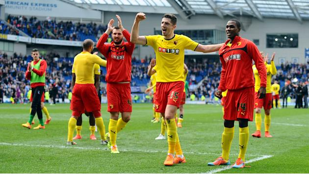 Watford back in English Premier League