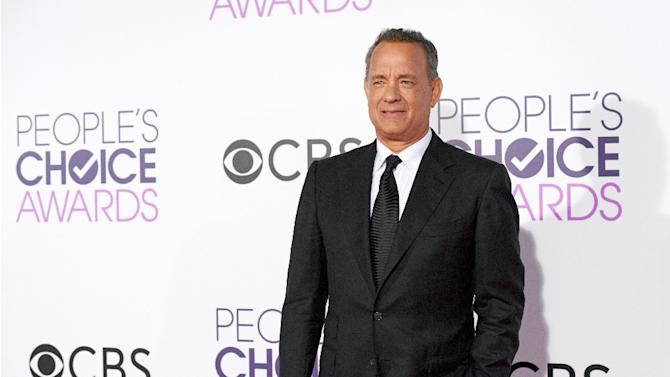 Actor Tom Hanks, pictured on January 18, 2017, is now the owner of a Fiat 126 p