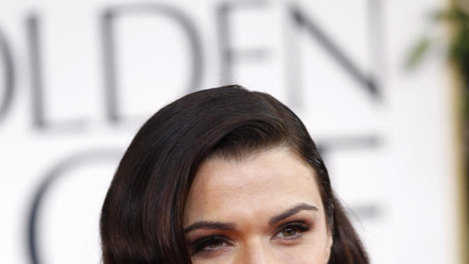 Actress Rachel Weisz arrives at the 70th annual Golden Globe Awards in Beverly Hills
