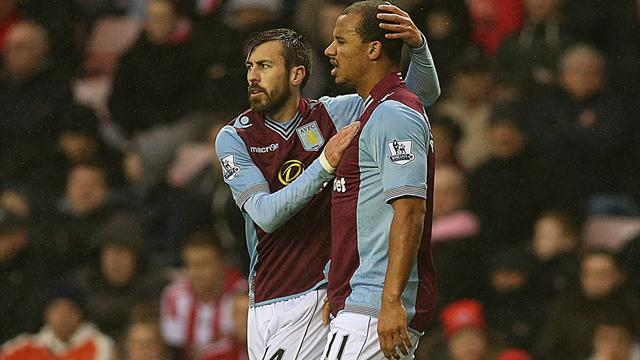 Premier League - Nolan double earns West Ham win at Villa