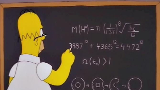 Homer Simpson Figured Out Higgs Boson 14 Years Before Scientists
