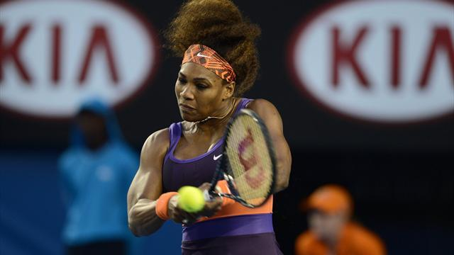 Australian Open - Serena sets up fascinating Stephens clash