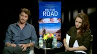 Garrett Hedlund and Kristen Stewart promote 'On The Road' at the Toronto International Film Festival, September 2012 -- Access Hollywood