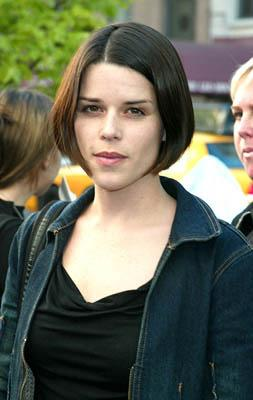Premiere: Neve Campbell at the New York premiere of Dreamworks' Hollywood Ending - 4/23/2002