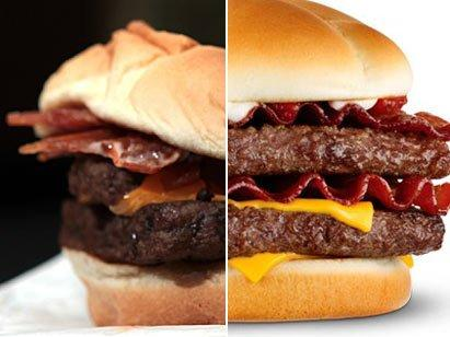 Image vs. reality in fast-food advertising