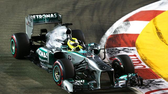 Brazilian Grand Prix - Rosberg hoping weekend stays wet