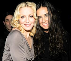 Demi Moore Was Not Snubbed by Madonna on Oscars Night