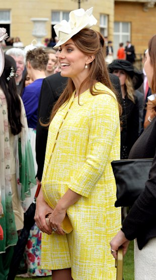 Kate Middleton, The Duchess Of Cambridge Admits To Feeling The Heat During Pregnancy
