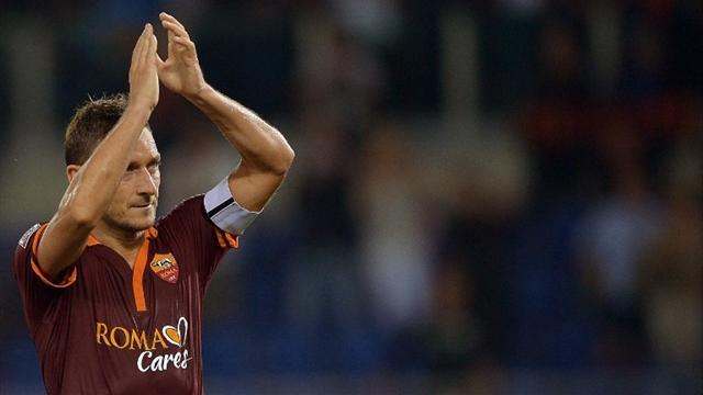 Serie A - Roma to retire Totti's number 10 shirt