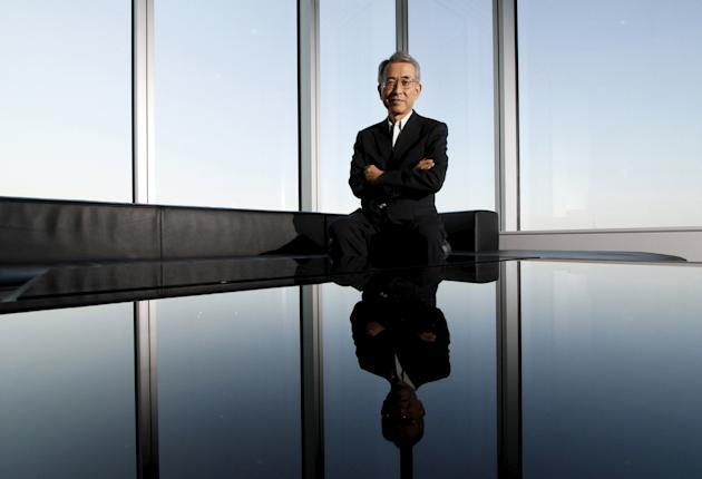 File photo shows Toyota Motor Corp. Executive Vice President Yukitoshi Funo posing for a picture before the Reuters Rebuilding Japan Summit in Tokyo