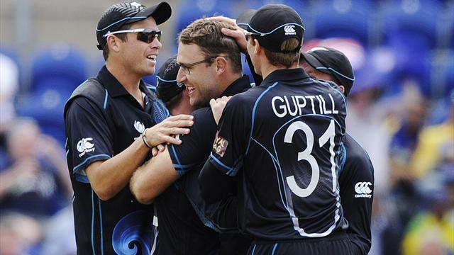 Cricket - New Zealand beat Sri Lanka in thriller