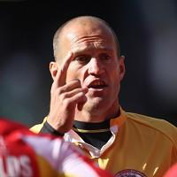 Thierry Alibert, pictured, came in for some strong criticism from Saints coach Mike Rush