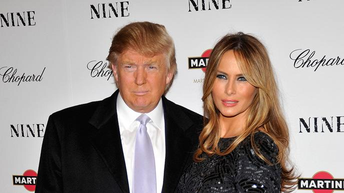 Nine NY Screening 2009 Donald Trump Melania Trump