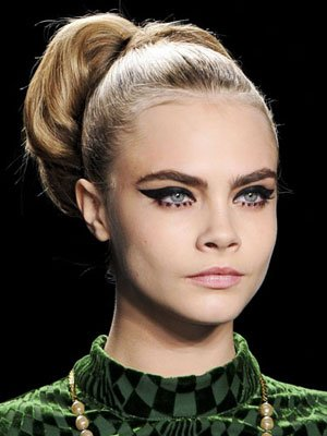 Modern Cat-Eyes at Anna Sui