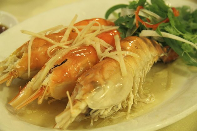 Freshwater Prawns at Mun Choong